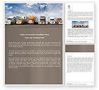 Cars/Transportation: Trucks Word Template #05080