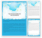 Abstract/Textures: Clouds Word Template #05085