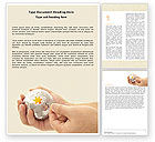 Business Concepts: Puzzle Fixing Word Template #05093