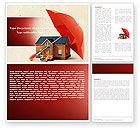 Financial/Accounting: Sicheres zuhause Word Vorlage #05116