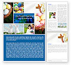 Holiday/Special Occasion: Free Easter Sunday Word Template #05120