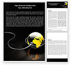 Global: Plugged In Word Template #05153