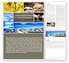Nature & Environment: Tundra Word Template #05154