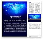 Telecommunication: IP Address Word Template #05155