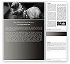 Careers/Industry: Charity Word Template #05156