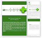 Medical: Modèle Word de site médical #05159