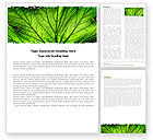 Nature & Environment: Leaf Close Up Texture Word Template #05194