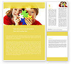 Education & Training: Jigsaw Game Word Template #05208