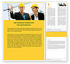 Careers/Industry: Building Engineers Word Template #05224