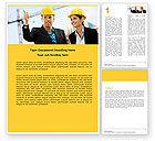 Careers/Industry: Templat Word Insinyur Bangunan #05224