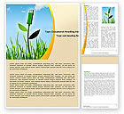 Nature & Environment: Bionics Word Template #05257