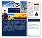 Construction: Bridges Word Template #05270