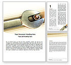 Utilities/Industrial: Bolted Connection Word Template #05285