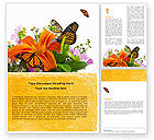 Nature & Environment: Summer Field Word Template #05286