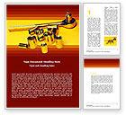 Utilities/Industrial: Fackelschlüssel Kostenlose Word Vorlage #05290