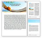 Careers/Industry: Blue Expanse Word Template #05291
