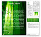 Abstract/Textures: Green Curtain Word Template #05302