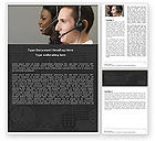 Careers/Industry: Telecoms Operator Word Template #05311