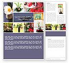 Careers/Industry: Modelo de Word Grátis - ikebana #05315