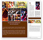 Holiday/Special Occasion: Festivals Word Template #05319