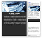 Medical: Surgeon Word Template #05362
