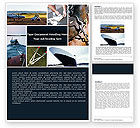 Careers/Industry: Towing Word Template #05373