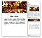 Art & Entertainment: Graffiti Zone Word Template #05376
