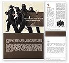 Sports: Ninja Word Template #05381