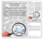 Consulting: Detailed Searching Word Template #05386