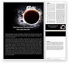 Nature & Environment: Planetary Science Word Template #05393