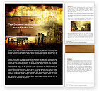 Education & Training: Castles And Fortress Word Template #05396