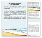 Nature & Environment: Sea Shore Word Template #05409