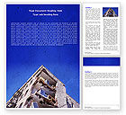 Construction: Building Damage Word Template #05413
