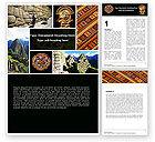 Education & Training: Inca Civilization Word Template #05422
