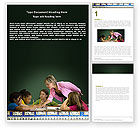 Education & Training: Class Teaching Word Template #05430