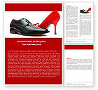 Consulting: Footwear Word Template #05435