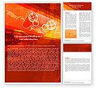 Careers/Industry: Game Joystick Word Template #05447