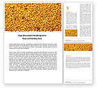 Agriculture and Animals: Flax Word Template #05448