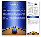 Sports: Hitting The Goal Word Template #05469
