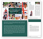 Education & Training: Childs Play Word Template #05470
