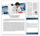 Technology, Science & Computers: Modèle Word de test médical en laboratoire #05471