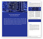 Careers/Industry: Database Structure Word Template #05478