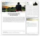 Nature & Environment: Privacy Word Template #05479