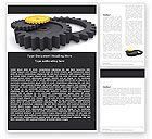 Utilities/Industrial: Mechanic Parts Word Template #05483