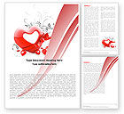 Holiday/Special Occasion: Giving Love Word Template #05490