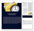 Business: Document Workflow Word Template #05499