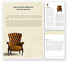 Careers/Industry: Armchair Word Template #05513