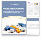 Medical: Prescription Word Template #05517