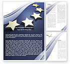 Abstract/Textures: Stars Of European Union Word Template #05523