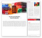 Art & Entertainment: Wandkunst Word Vorlage #05538